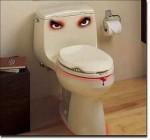 Disgruntled Toilet